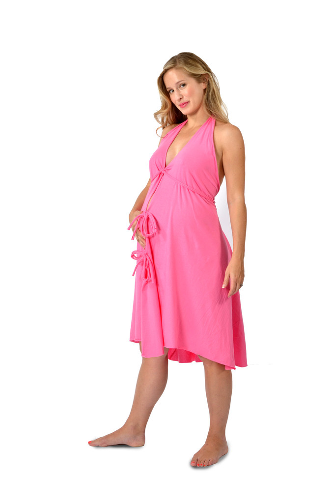 Pretty Pushers Labor Gown – Solid Colors | Holistic South Pregnancy ...