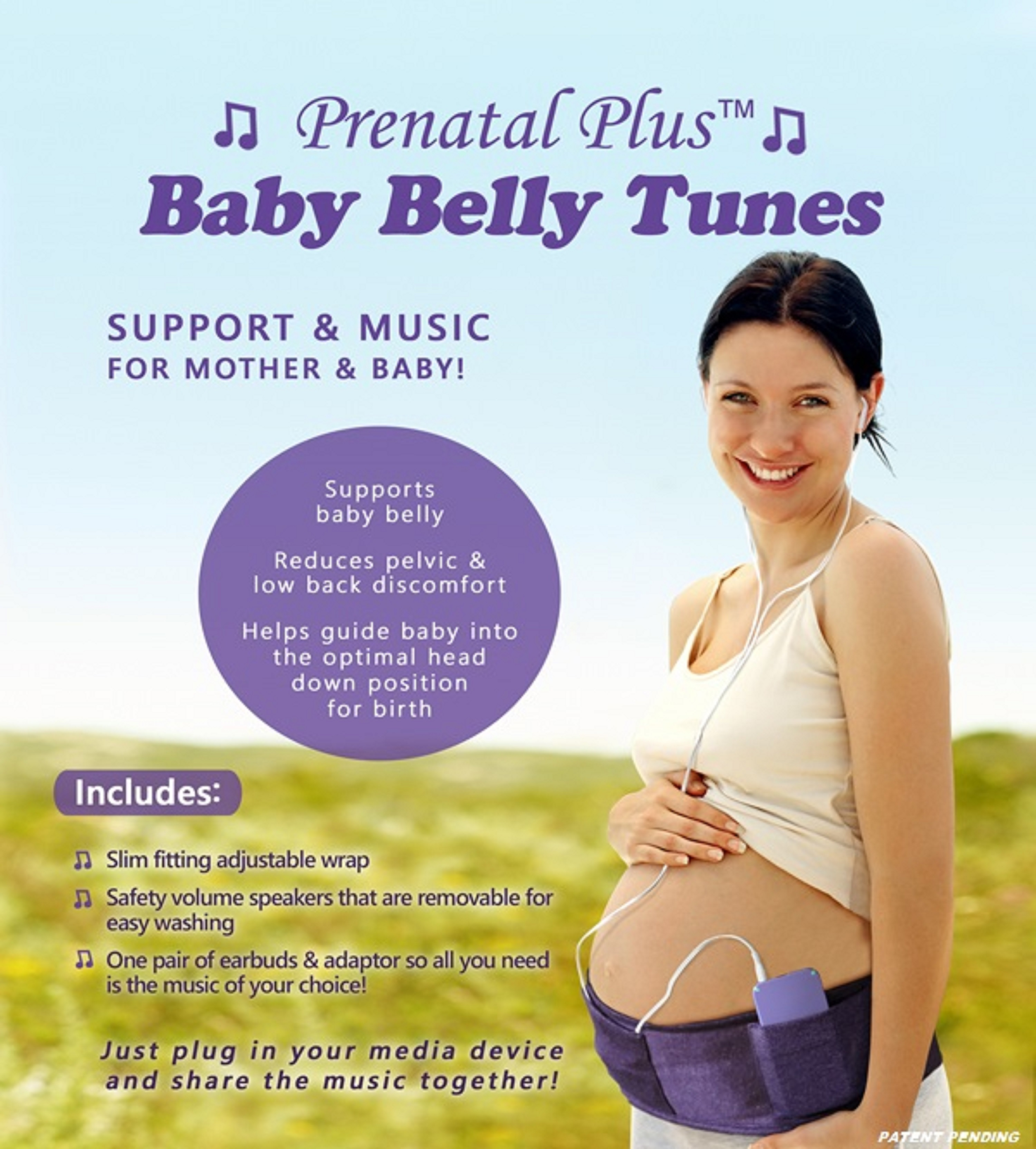 Baby Belly Tunes | Holistic South Pregnancy & Birth Center